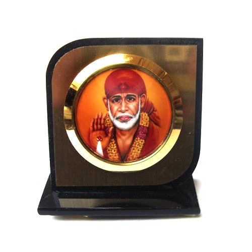 SAI BABA PLASTIC KA CAR DASHBOARD SHOWPIECE
