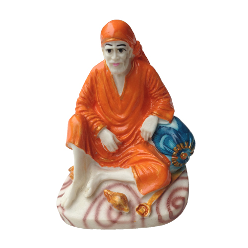 Buy SAI BABA DWARKAMAI SITTING POSE RESIN STATUE