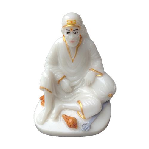 Buy SHIRDI SAI BABA DWARKAMAI MARBLE STATUE